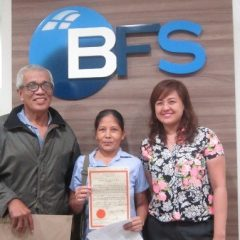 BFS helps couple secure homes